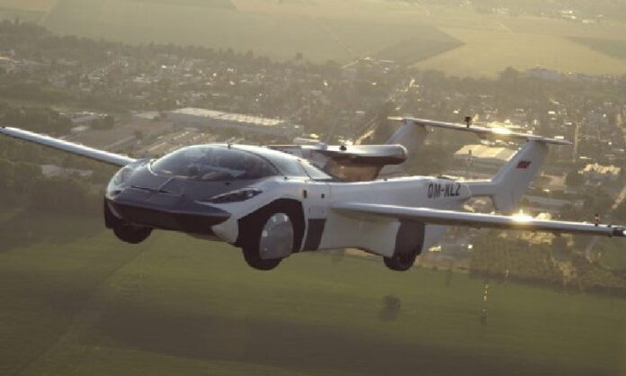Prototype Flying Car Successful Test Flight Completed