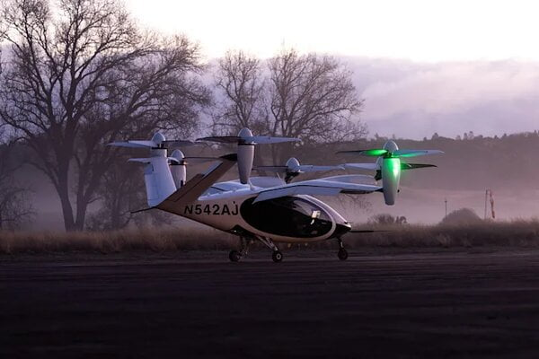 NASA Is Testing A Flight Test Of An Electric Taxi